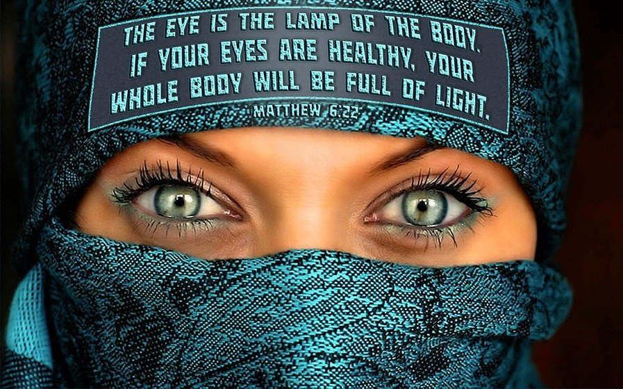 Eye is the lamp of the body