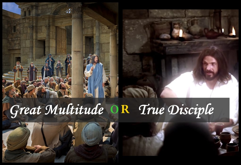 Great Multitude or True Disciple